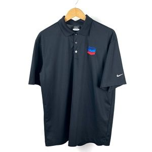 NIKE MEN'S CHEVRON PERFROMANCE POLO LARGE 1019.